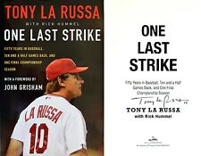 Tony La Russa~SIGNED~One Last Strike: Fifty Years in Baseball~1st/1st HC+Photos!