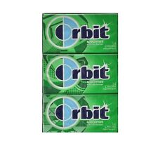 Orbit Sugar Free Gum Spearmint Wrigley's 12 Packs of 14 Pieces Chewing gum pack