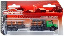 Majorette Farm Set Mercedes Zetros 2733 Forestry Truck with Trailer 2016