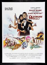 OCTOPUSSY * CineMasterpieces ORIGINAL MOVIE POSTER 1983 JAMES BOND UK BRITISH