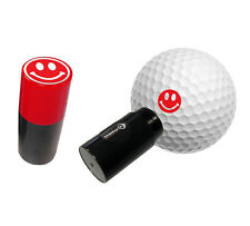 SMILEY RED - ASBRI GOLF BALL STAMPER, GOLF BALL MARKER - GOLF GIFT OR PRIZE