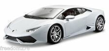 BBURAGO LAMBORGHINI HURACAN LP610-4 WHITE 1/18 DIECAST CAR MODEL 11038