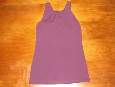 Lucy Activewear Women's Power Yoga Halter * Deep Purple * XSmall * FREE SHIPPING