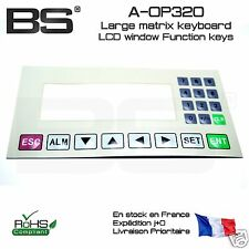 Facade clavier matriciel membrane LCD matrix keyboard LCD window HMI 175x86mm