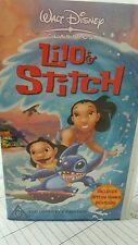 Lilo & Stitch Disney VHS VIDEO
