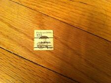 Vintage used PUSHCART 1880s Bulk Rate Cancelled Used stamp Collectible Collector