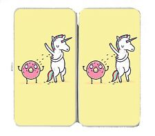 """""""How Donuts Get Sprinkles"""" Unicorn Shave Arm - Womens Taiga Hinge Wallet Clutch"""