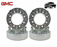 "4 PC 2011 GMC Sierra 2500HD 3500HD 2"" inch 8 Lug Wheel Spacers Adapters Duramax"