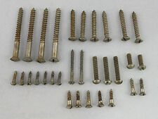 Relic AGED SINGLE SLOT NICKEL SCREWS Set for early 50's style Telecaster guitar
