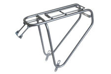 Steco Power Safety Carrier Rear Bike Pannier Rack Carry 35kg - SILVER -16.560.79