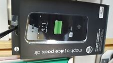 Mophie Juice Pack Air rechargeable external battery case for iPhone 4 and 4s