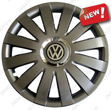 "4x16""  Wheel trims for VW GOLF PASSAT SHARAN CRAFTER  TRANSPORTER T5 - graphite"