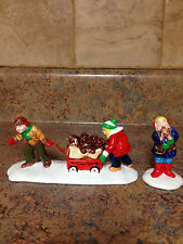 DEPARTMENT 56 CHRISTMAS PUPPIES COLLECTIBLE FIGURINE 56.54321