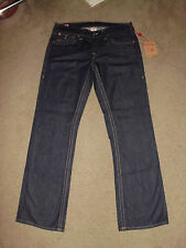 TRUE RELIGION Men's NWT RICKY 34 x 34 Body Rinse USA Made 100% cotton Rock Jeans