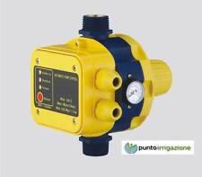 Presscontrol Pressostato elettronico + manometro x pressione autoclave 2,2 BAR