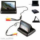 "4.3""Foldable Digital HD LCD Color Monitor Screen For Car Reverse Rearview Camera"