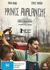 Prince Avalanche DVD NEW RELEASE BEST PICTURE COMEDY Paul Rudd Emile Hirsch R4