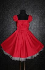 T 48 50 52 rockabilly 50er jupon pin up party vintage robe retro gothique