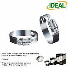 IDEAL Box of 10 Tridon Hose Clamps Size #8 / 11-25mm 7/16 - 1""