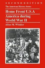Home Front U.S.A.: America during World War II-ExLibrary