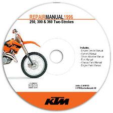 NEW OEM KTM OEM REPAIR MANUAL DISK DVD 2009 2010 2011 2012 65 SX XC 3206114