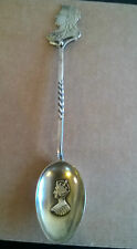 Queen Victoria Diamond Jubilee Solid Silver Souvenir Spoon HM 1897 CS - FS