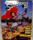 Superman 3 Movie Topps Trading Cards Wax Box 36 Sealed Packs New