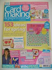 Magazine. Card Making & Papercraft. Issue 37. March 2007. 153 Ideas For Spring.