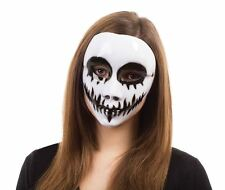White Venom Mask, On Glasses Frame, Fancy Dress Mask #US