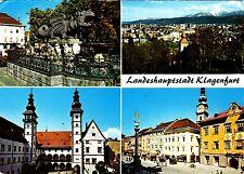 Landeshauptstadt Klagenfurt , Ansichtskarte, gelaufen