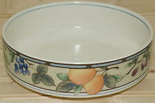 Mikasa Garden Harvest  Round Vegetable Serving Bowl  8 3/8""