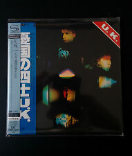 U.K. - U.K. (Same) SHM Mini LP Style CD NEU Jobson,Wetton;Bozzio