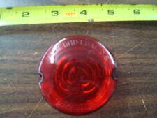 RED TURN SIGNAL LENS FOR HARLEY SPORTSTER XL FX & FXR 1973 - 1985