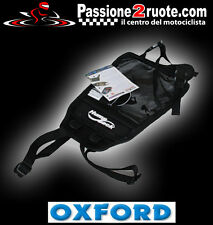Base con correas Bolsa de depósito moto Oxford Jorobadas Puerto mapa documentos