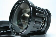 Asahi Pentax 6x7 Super Multi Coated Takumar 55mm f3.5 w/hood, filter Japan Mint!