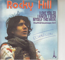 45TRS VINYL 7''/ FRENCH SP ROCKY HILL / COVER SERGE REGGIANI / G. YARED