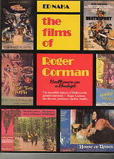 THE FILMS OF ROGER CORMAN: ED NAHA, 210 Pages, SCARCE 1st Paperback edition 1982