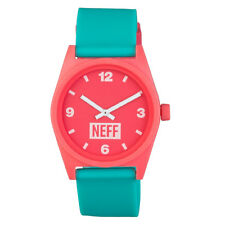 Neff Men's Daily Watch Pink Mint Skate Streetwear Accessories Casual Circular