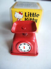 SUPER RARE SANRIO VINTAGE 1976 Hello kitty Spring Scale Little kitty miniature