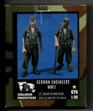 VERLINDEN 676 - GERMAN ENGINEERS WWII (2 Figures) - 1/35 RESIN KIT NUOVO