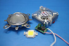44mm Lens kit + 10W Cool White LED + 10Watt Driver + 10w Heatsink DIY