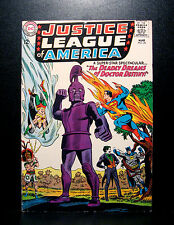 COMICS: Justice League of America #34 (1965), Dr Destiny app - RARE (batman)
