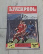 370) Liverpool v Norwich City programme division one 17-12-1988