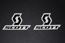 #57 Scott Logo Cross Motorrad Aufkleber Sticker Decal Bapperl Kleber Race black