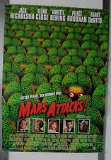DS874 - Gerollt/KINOPLAKAT - MARS ATTACKS - Jack Nicholson / Glenn Close