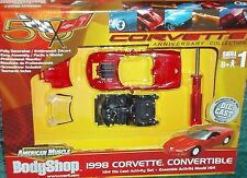 ERTL 1998 CHEVY CORVETTE 1/64 ASSEMBLY MODEL KIT 50th ANNIVERSARY EDITION