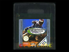 CHAMPIONSHIP MOTOCROSS 2001 Gameboy Color Versione Europea ••••• CARTUCCIA