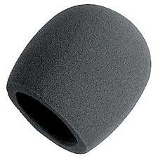 On Etapa Foam tipo de la bola Mic Anti Saliva Parabrisas Para Micrófonos Nuevo