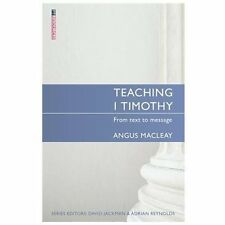 Teaching 1 Timothy: From text to message Books