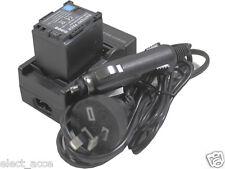 New Battery + Charger For Canon BP-820 BP-828 XA25 XA20 VIXIA HF G30 Camcorder